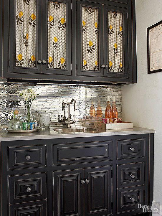 Wet Bar Ideas  Wet bar designs Curtains and Backsplash tile
