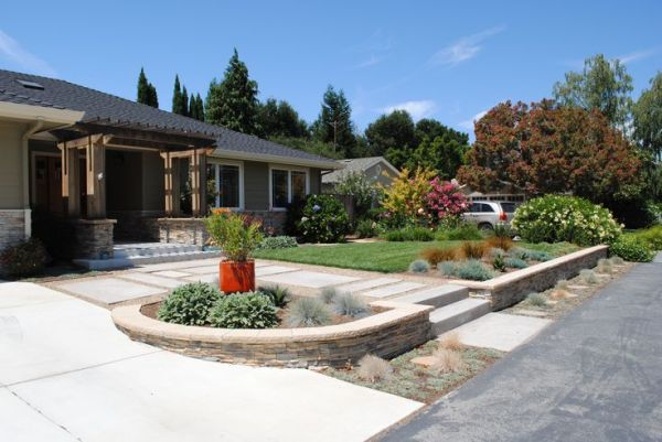 front yard modern landscaping ideas