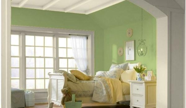 pale green color scheme for bedroom Color Scheme 4: Bedroom wall color. Love the light green