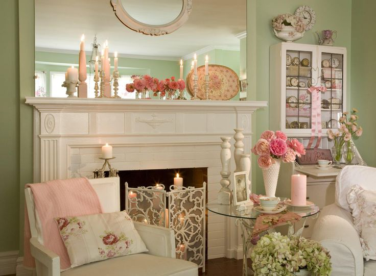 363 best images about Shabby Chic Lovely Living Rooms on