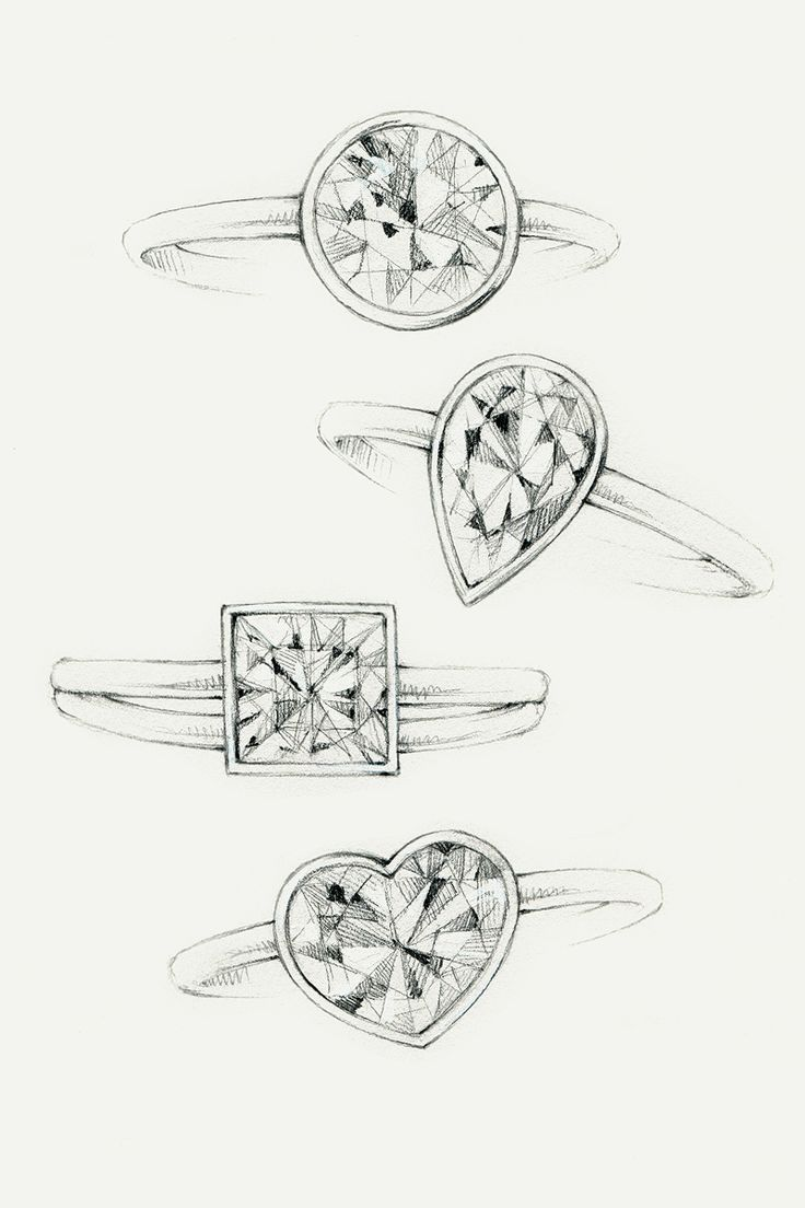 17 Best ideas about Jewellery Sketches on Pinterest