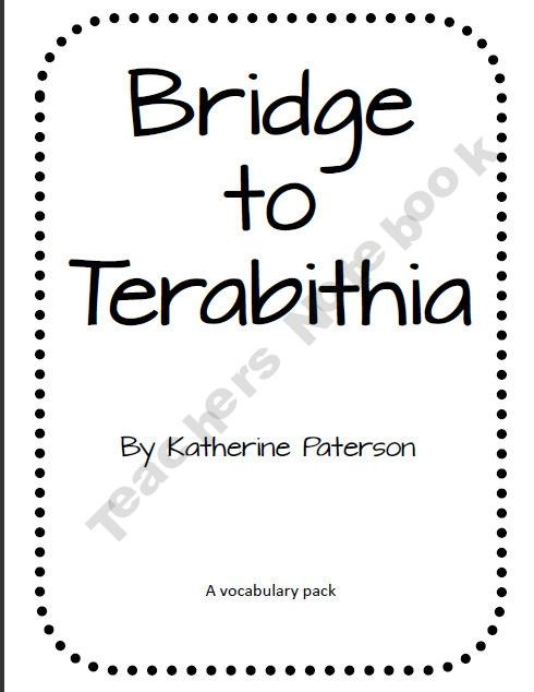 1000+ images about The Bridge to Terabithia on Pinterest