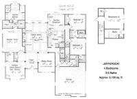 Unique Ranch House Plans | The ranch style Jefferson ...
