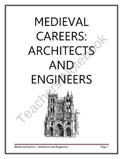 Medieval Careers: Architect and Engineer from