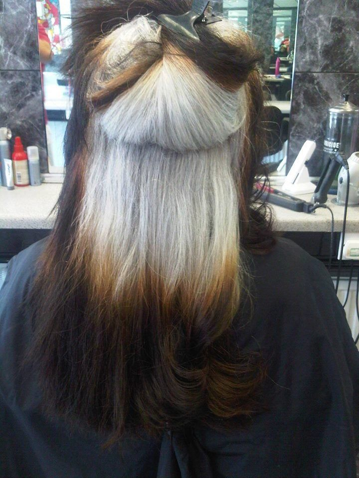 46 Best Images About Growing Out Permanent Hair Color To