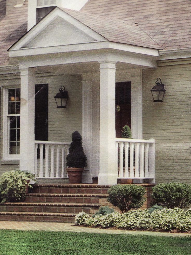 25 Best Ideas About Portico Entry On Pinterest Front Door