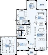 25+ best ideas about Double storey house plans on ...