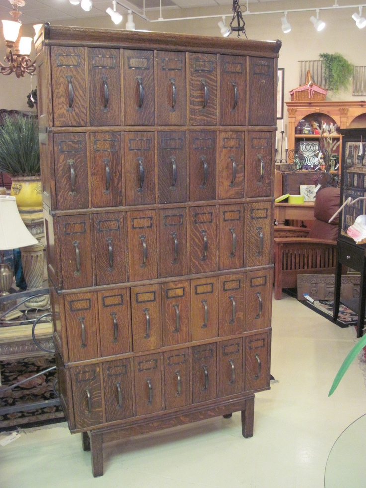 Absolutely Love Antique Lawyers Filing Cabinet Could Use For Crafts Sewing Etc 92013