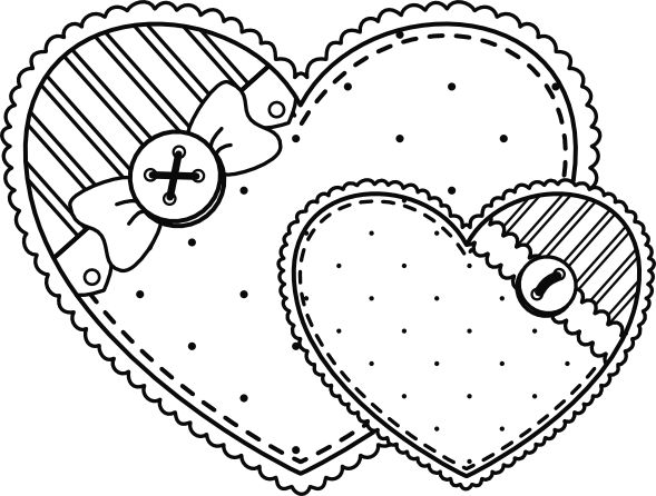 309 best images about Stitching: Hearts on Pinterest