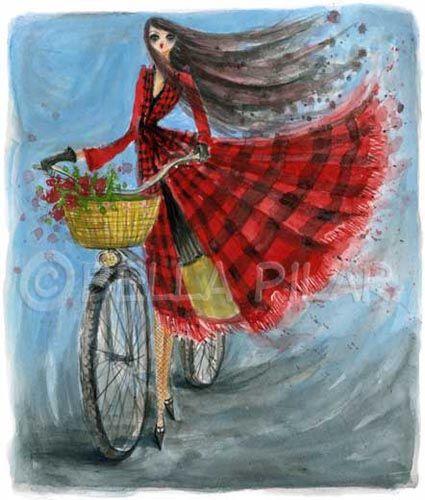 Fall Bicycle Ride Copyright Bella Pilar BELLA PILAR