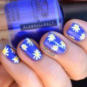 ideas daisy nails
