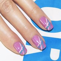 Best 20+ Line nail designs ideas on Pinterest