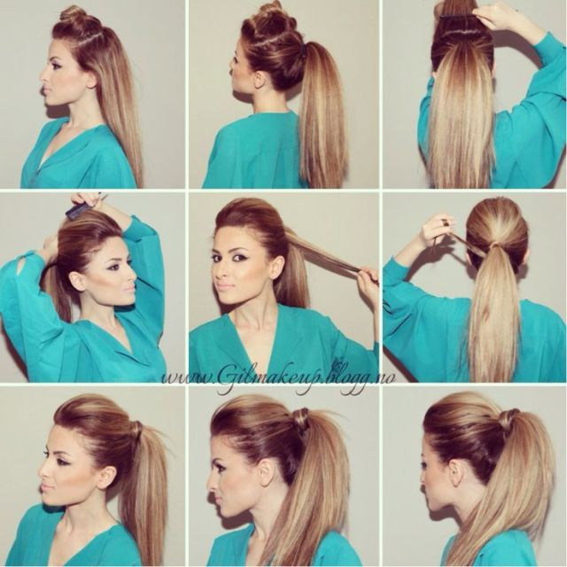 1000 ideas about Volume  Ponytail  on Pinterest Perfect