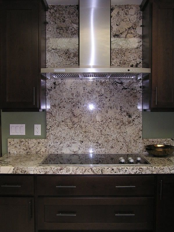 granite back splash  Full granite backsplash To have or