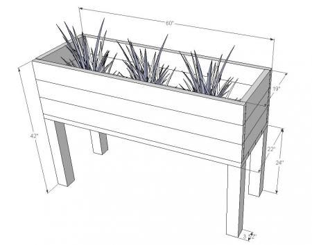 Best 25+ Planter box plans ideas on Pinterest