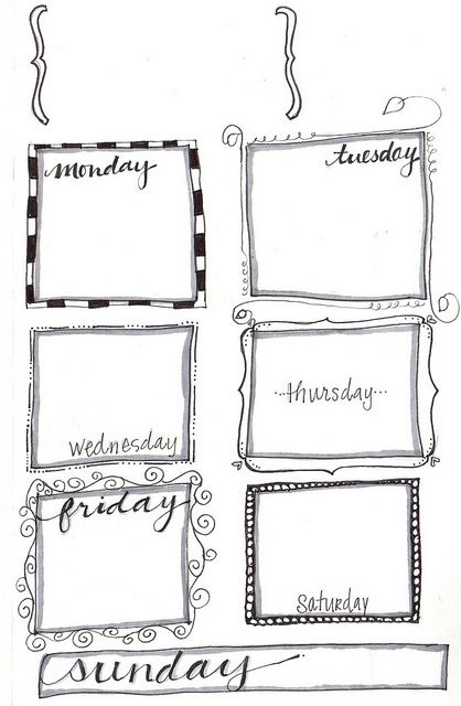 61 best images about Filofax and free printables on