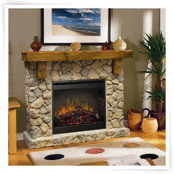 Dimplex Fieldstone Electric Fireplace Fireplaces