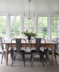 Metal Chairs Dining. Klaus Cherry Metal And Wood Dining ...