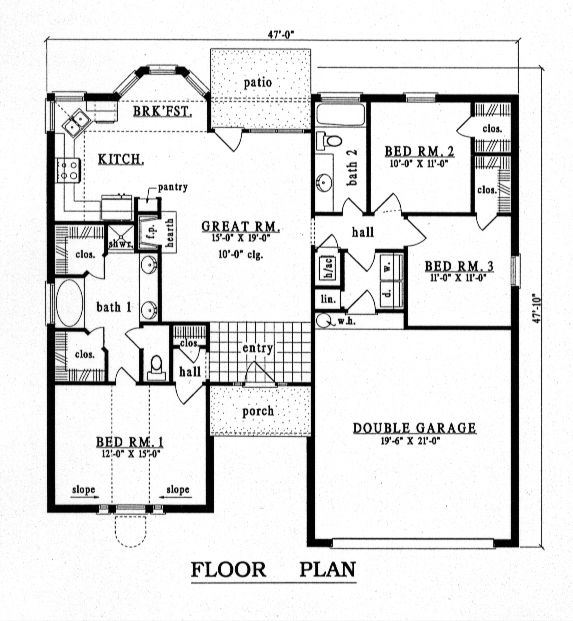 1000+ ideas about European House Plans on Pinterest