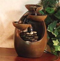 Polyresin Tabletop Fountain | feng shui home | Pinterest ...
