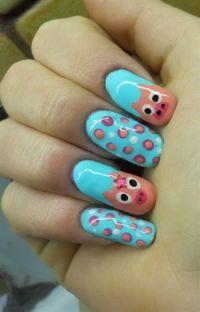 Best 25+ Pig Nails ideas on Pinterest | Pig nail art, Nail ...