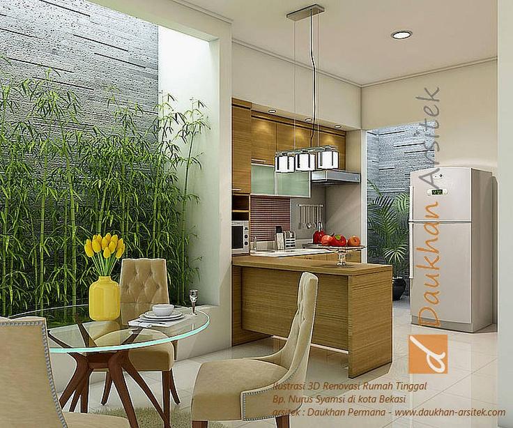 Ruang Dapur Rumah Teres Related Keywords amp Suggestions  Contoh Gambar Rumah