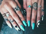 ideas long fingernails