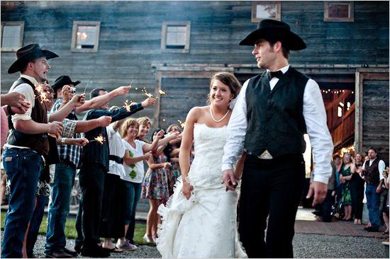western wedding ideas  My Wedding  Pinterest  The