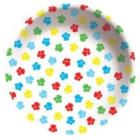 "Puppy Dog Paw Prints ""Paw-ty Time!"" Party Supplies PLASTIC ..."