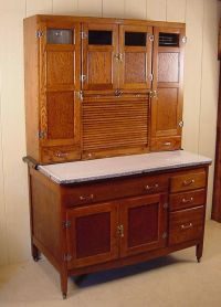 493 best images about vintage hoosier cabinets-kitchen ...