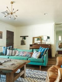 25+ Best Ideas about Teal Couch on Pinterest | Teal sofa ...