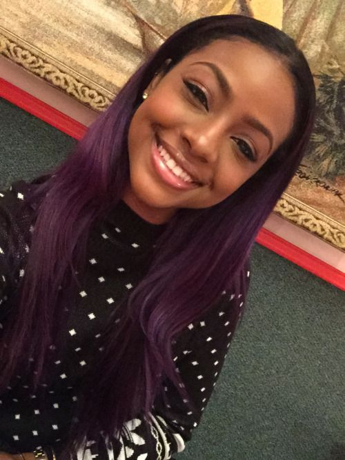 Justine Skye Frosted Highlights Google Search Hair