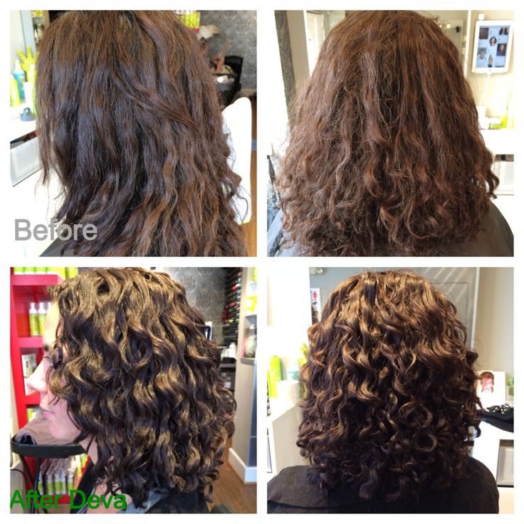 Deva Haircut Before And After Deva Curls The Curls We