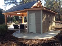 outdoor cabana with bathroom | Georgia Classic Pool the ...