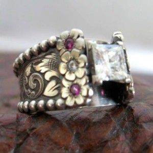 1000 Ideas About Western Wedding Rings On Pinterest