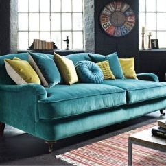 Teal Club Chair Wicker Cushions Canada Peacock Sofa With Gray Walls @jillian Medford Marwell   Living Rooms / Family Pinterest ...