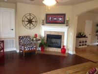 The Bailey floor plan living room with fireplace http ...