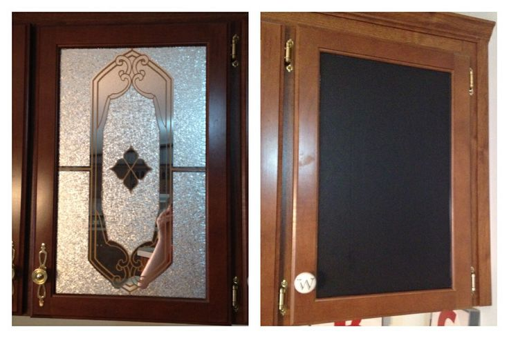 Mobile Home Ugly Mirrored Cabinet Doors Transformed With