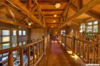 log homes - railing | Log Homes, Log Cabins and Timber ...