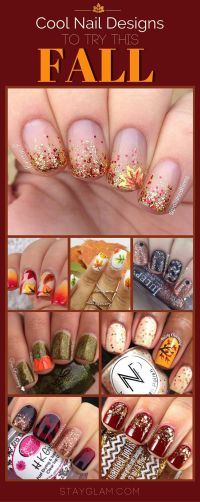 Best 10+ Fall nail designs ideas on Pinterest | Fall nails ...