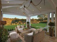 Patio. Patio Ideas. Gorgeous covered patio open to ...