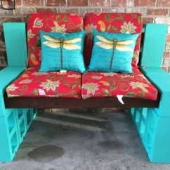 Cheap Chair Cushions Outdoor Big And Tall Office Chairs Staples Cinder Block Bench   Patio Ideas Pinterest Gardens, Stains Turquoise