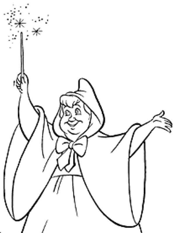 65 best images about Coloring Pages (Cinderella) on