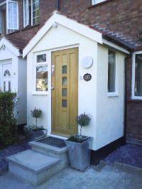 25+ best ideas about Front Door Porch on Pinterest | Gable ...