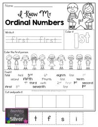 Best 20+ Ordinal Numbers ideas on Pinterest | Worksheets ...