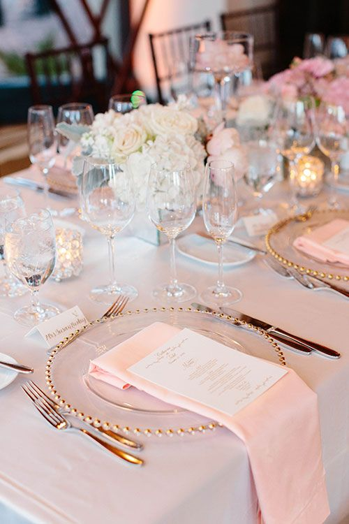 25+ best Pink table settings ideas on Pinterest