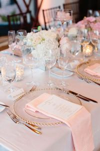 25+ best Pink table settings ideas on Pinterest