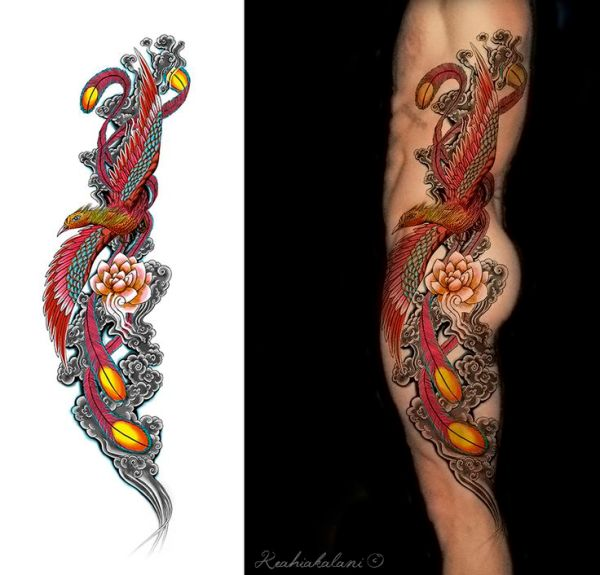 20 Traditional Japanese Style Phoenix Tattoos Ideas And Designs