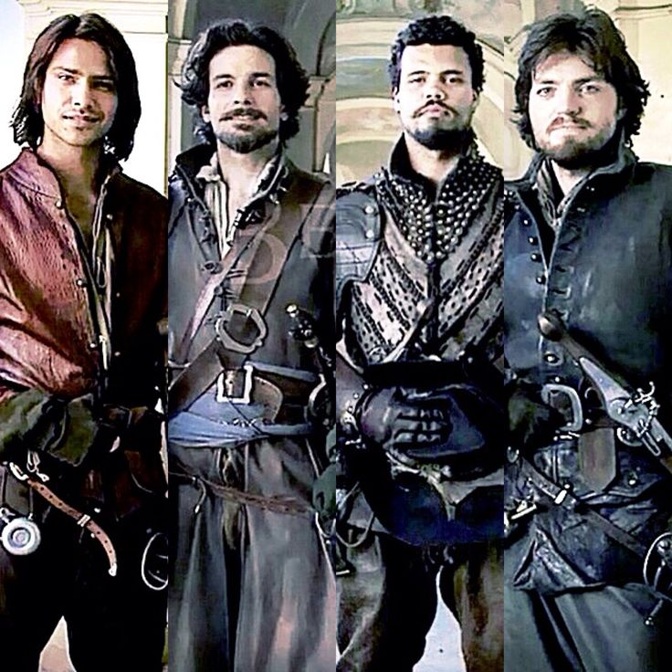 The fabulous four - The Musketeers :D | Brilliant TV shows | Pinterest | Posts. The o'jays and Musketeers