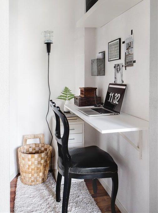 25 best ideas about Small desk bedroom on Pinterest